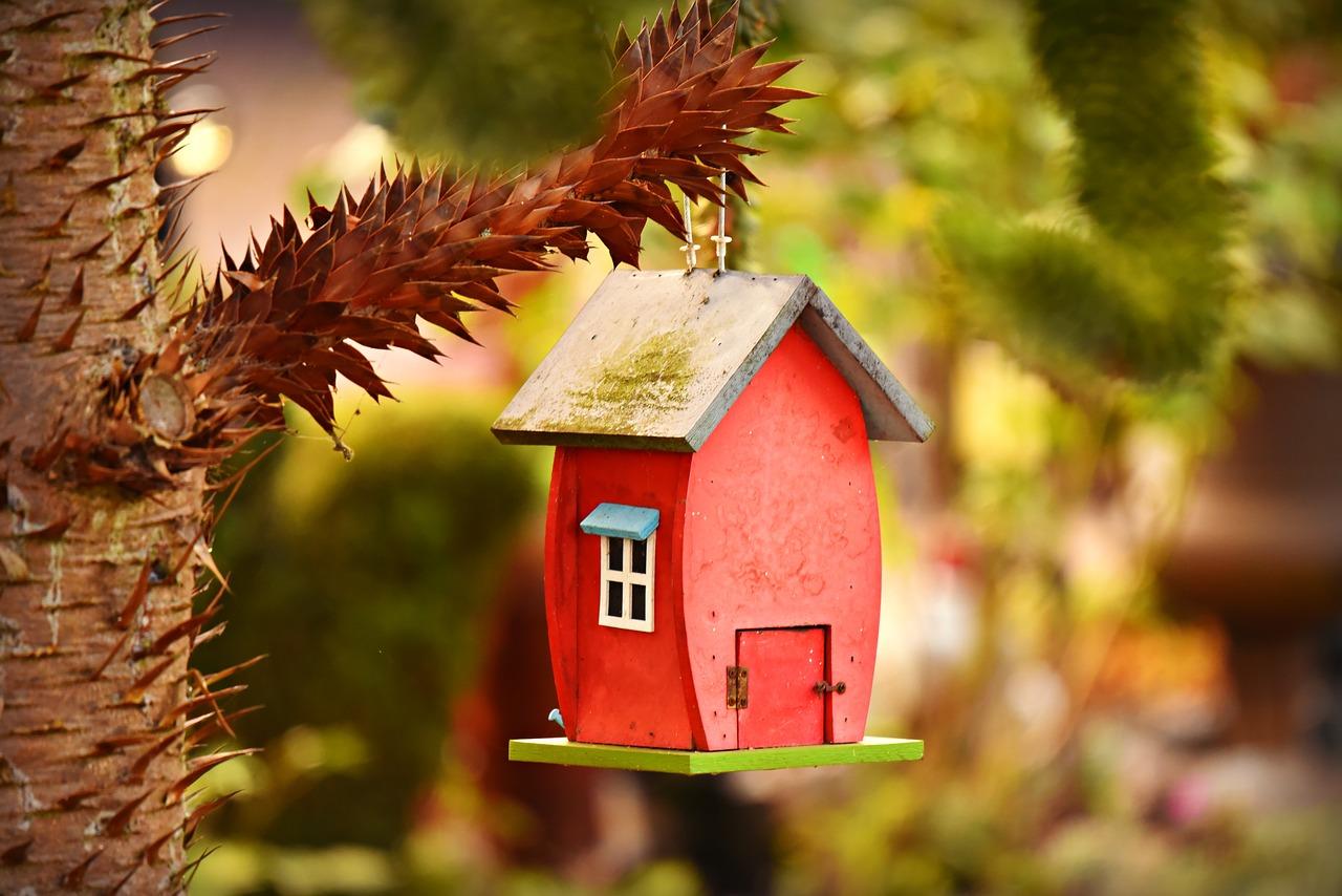 Nestkast Vogelhuis voor in uw tuin